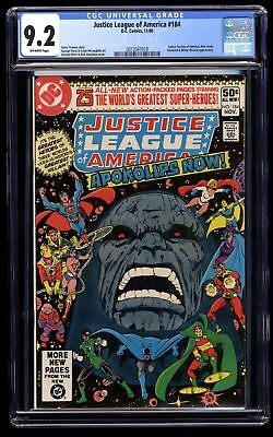 Justice League Of America #184 CGC NM- 9.2 Off White