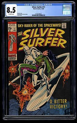 Silver Surfer #11 CGC VF+ 8.5 Off White