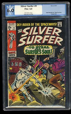 Silver Surfer #9 PGX FN 6.0 Off White