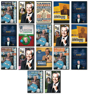 Johnny Carson Tonight Show 17 DVDs NEW / Out of Print - GREAT STOCKING STUFFERS!