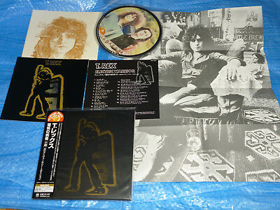 T. Rex Electric Warrior +8 30th Anniversary Edition Mini LP CD JAPAN UICY-9133