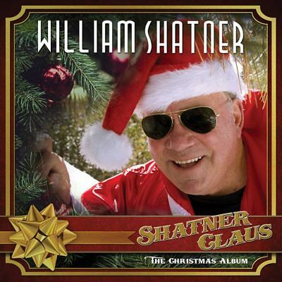 WILLIAM SHATNER - Shatner Claus The Christmas Album Red LP With Guest Artists
