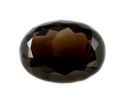 19thC Antique Scotland Cairngorm Smoky Quartz Gem Ancient Rome Intaglio Gem