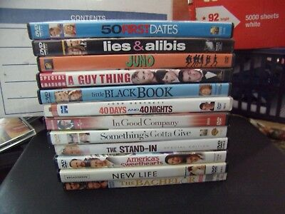 Lot of 12 Romantic Comedy Dvd's - See Description for Titles - #24