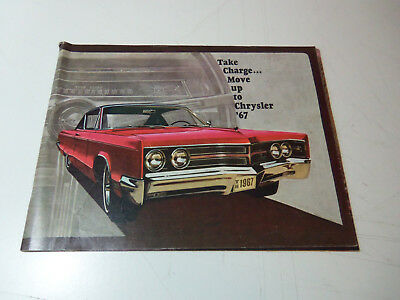 1967 CHRYSLER Brochure 40 Page Booklet NEW YORKER 300 NEWPORT TOWN & COUNTRY