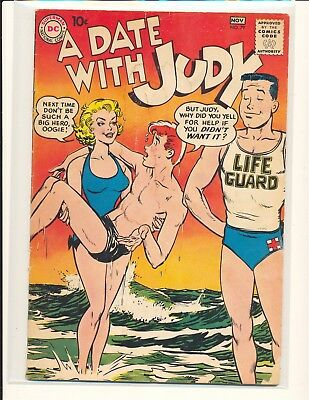A Date With Judy # 79 Good Cond. slight water damage