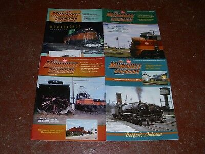 The Milwaukee Railroader Historical Society Magazine - (4) Issues Year 2001