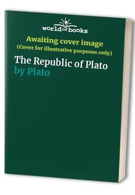 The Republic of Plato by Plato Paperback Book The Fast Free Shipping