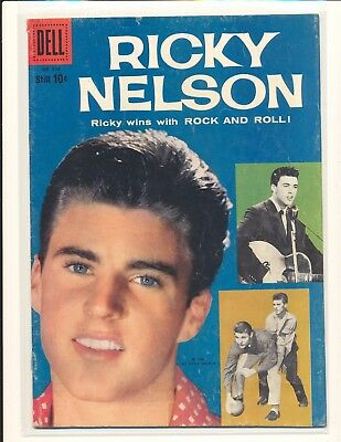 Four Color # 956 - Ricky Nelson (# 1) VG/Fine Cond.