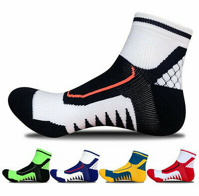 10 Pairs Ankle Socks Low Cut Sports Running Cycling Crew Cotton Casual Socks