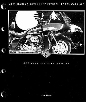 2001 Harley-Davidson Fltrsei2 Road Glide Parts Catalog Manual