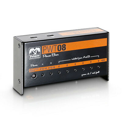 Palmer PWT 08 - Pedalboard Power Supply