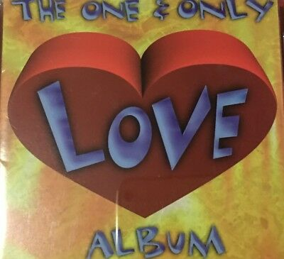 The One & Only Love Album  . 2 CD COMPILATION CD
