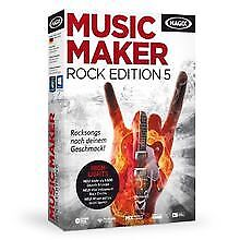 MAGIX Music Maker Rock Edition 5 von MAGIX Soft... | Software | Zustand sehr gut