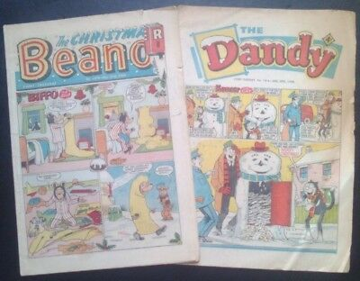 The Beano & Dandy Christmas comics 1968 (December 21st/28th). Fair only
