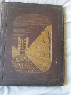 Antique 1887 Book The Temple Of Ezekiel's Prophecy Henry Sulley Hardback