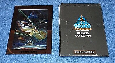Tokyo Disneyland Star Tours - Opening July 12, 1989 - Cast Preview Photo Stand