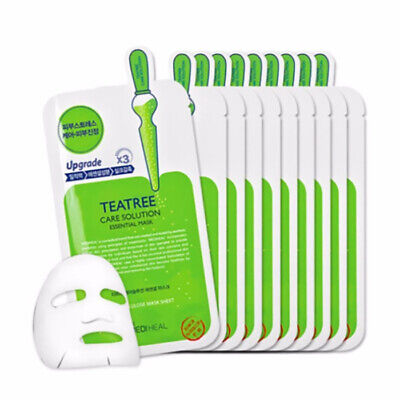[ MEDIHEAL] TeaTree Care Solution Essential Mask Pack  Moisture (1box 10pcs)