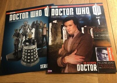 DOCTOR WHO ELEVENTH Doc PART 1 MATT SMITH FIGURINE COLLECTION MAGAZINE & GUIDE