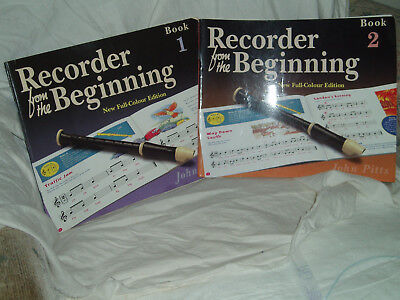 Recorderecorder From The Beginning Book 1 And 2