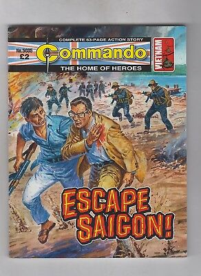COMMANDO No. 5035  =  ESCAPE SAIGON!  =  {D. C. THOMSON 2017}  =