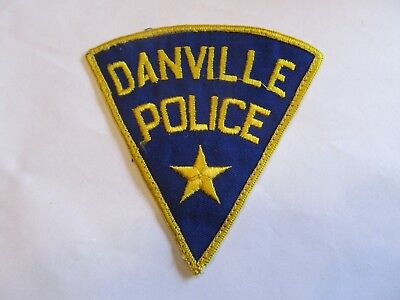 Ohio Danville Police Patch Old Cheese Cloth