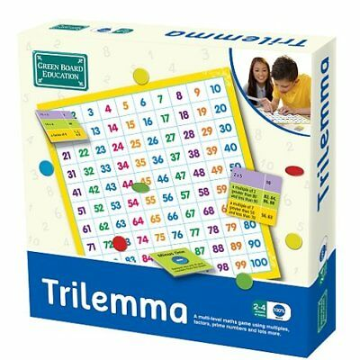 The Green Board Game Co. - Gioco da tavolo Trilemma [Lingua Inglese] (o5R)
