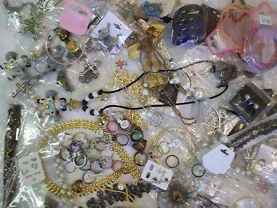 Joblot 150 Items New Costume Jewellery. Necklaces, Bracelets, Earrings, Rings.