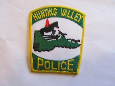 Ohio Hunting Valley Police Patch