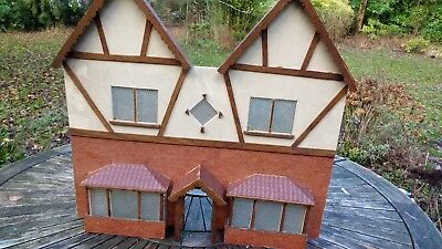 Vintage 1930s Dolls' House Facades only Collection