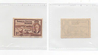 1950 TURKS & CAICOS ISLANDS Used Stamp SG222