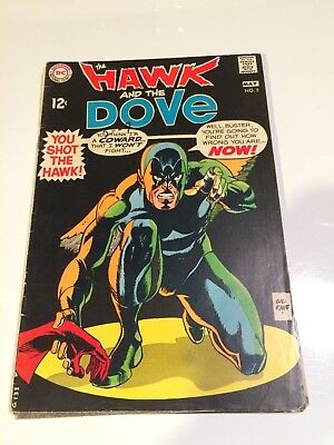 The Hawk and the Dove 5 Gil Kane 1968 Teen Titans