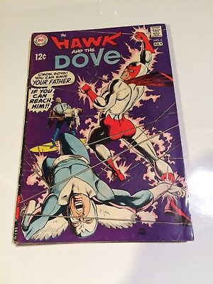 The Hawk and the Dove 6 Gil Kane Wally Wood 1968 Teen Titans