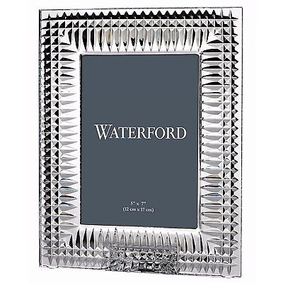 Waterford Crystal Lismore Diamond 5x7 Frame, Bad Box*