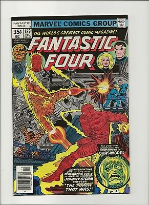 Fantastic Four 189 thru 199 Run 11 Issue Lot High Grade VF to NM Qualified 77-78
