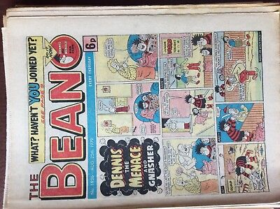 DC Thompson THE BEANO Comic. Issue 1936 August 25th 1979 **FREE UK POSTAGE**