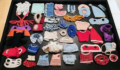48-Pc Lot Of Vintage Troll Doll Clothes, Outfits & Accessories!