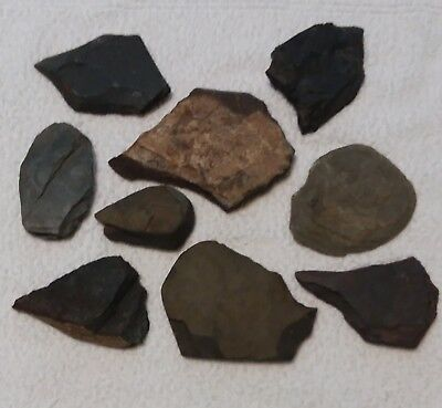 ANCIENT Indian Artifacts / Stone Tools / Arrows, Blades & Scrapers
