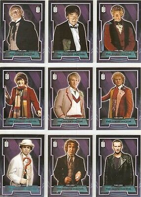 DOCTOR WHO 2015 TOPPS BASE trading card set + 5 inserts sets 249 total