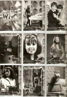 Doctor Who complete Monochrome Trilogy Trading card set Strictly Ink 2006 Dr.Who