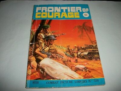 1971 Combat Picture Library comic no. 558