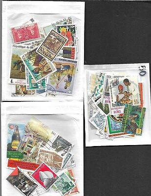Lot # 401   Worldwide 100 Stamps  -Mint And Used ,