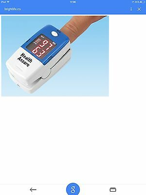 Fingertip Pulse Oximeter With Ce Mark And Carrycase