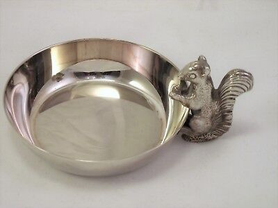 Vintage Small Squirrel Nut Dish By Viners