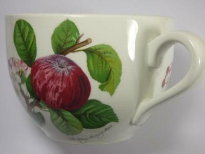 PORTMEIRION - POMONA MORNING APPLE -EXTRA LARGE TEACUP,6.5in wide