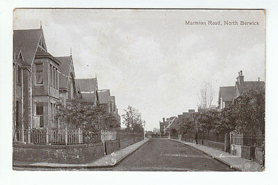 Marmion Road North Berwick East Lothian Photo Taken 1911 Posted 5 Apr 1912