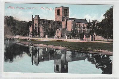Abbey Church Haddington East Lothian 1883 Card Published Pre 1911 Valentines
