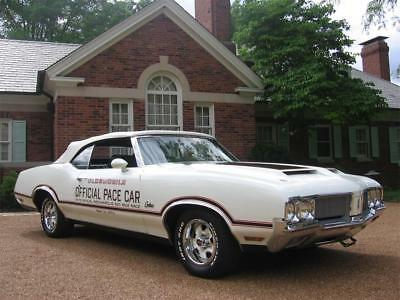 1970 Oldsmobile Cutlass Supreme 1970 Oldsmobile Cutlass Supreme Official Pace Car