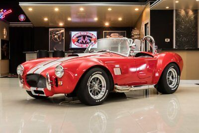 1965 Shelby Cobra Factory Five Factory Five Cobra! Ford 302ci V8 Crate Engine, 5-Speed Manual, 4W Disc, Posi