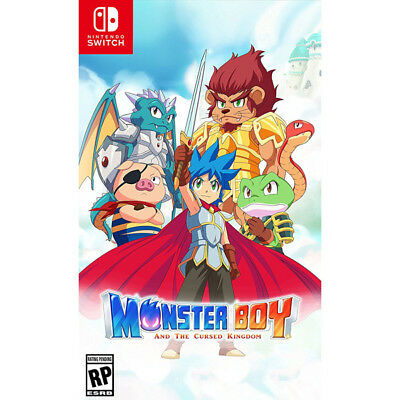 Monster Boy And The Cursed Kingdom [Rp]